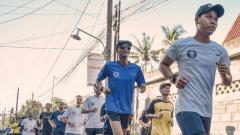 Indosport - Para peserta Borobudur Marathon 2019
