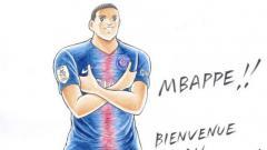 Indosport - Kylian Mbappe dikabarkan menjadi sebuah tokoh dalam komik Captain Tsubasa