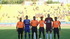 Indosport - Laga Becamex vs PSM Makassar di semifinal Piala Asia 2019