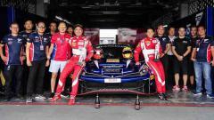 Indosport - Rio Haryanto bersama tim T2 Motorsports.