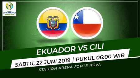 Pertandingan Ekuador vs Cili. Foto: Grafis: Indosport.com - INDOSPORT