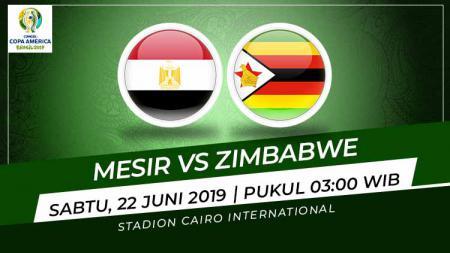 Pertandingan Mesir vs Zimbabwe. Foto: Grafis: Indosport.com - INDOSPORT