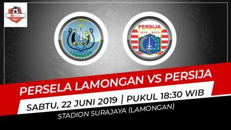 Pertandingan Persela Lamongan vs Persija Jakarta. Foto: Grafis: Indosport.com - INDOSPORT