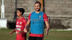 Indosport - Penyerang Bali United, Ilija Spasojevic. Foto: Nofik Lukman Hakim/INDOSPORT