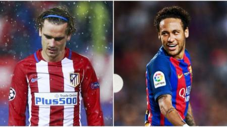 Barcelona lebih baik membawa pulang Neymar ketimbang membeli Griezmann. (Foto: Joe.co.uk)