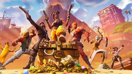 Salah satu game eSports, Fortnite. - INDOSPORT