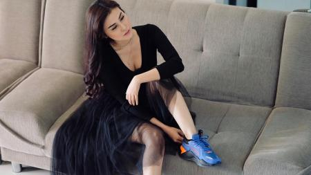 Vicy Melanie, kekasih Kevin Aprilio yang viral karena kesetiaannya - INDOSPORT