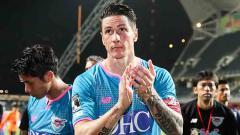 Indosport - Fernando Torres resmi pensiun dari dunia sepak bola.
