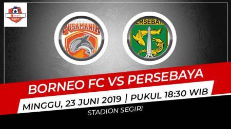 Berikut link live streaming Liga 1 2019 antara Borneo FC vs Persebaya. - INDOSPORT