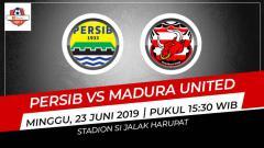 Indosport - Hasil babak pertama Persib Bandung vs Madura United