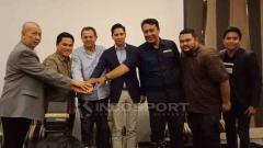 Indosport - Konferensi Pers FIBA.