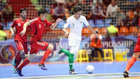 Berikut susunan pemain pertandingan Iran vs Timnas Indonesia pada perebutan juara ketiga Piala AFC U-20 Futsal 2019, Sabtu (22/06/19), di Tabriz, Iran. - INDOSPORT