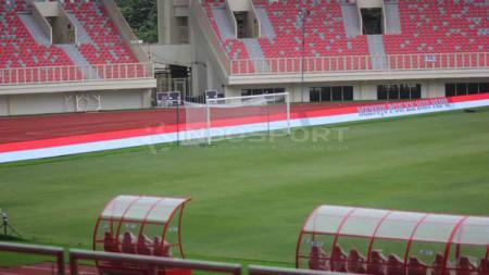 Stadion Papua Bangkit sempat dijajal para bintang sepak bola masa depan. - INDOSPORT
