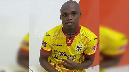 Bek  asal Brasil, Mauricio Leal saat masih berseragam Sriwijaya FC. - INDOSPORT