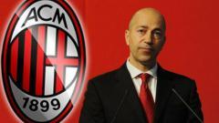 Indosport - CEO AC Milan, Ivan Gazidis
