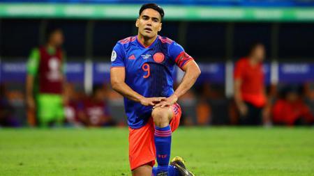 Radamel Falcao, striker sekaligus kapten Timnas Kolombia - INDOSPORT