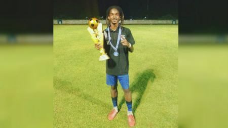 Ronaldo Kwateh, pemain Persib Bandung. - INDOSPORT