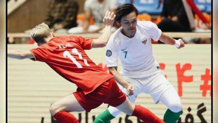 Kekalahan 1-9 Indonesia dari Iran tak membuat skuat Garuda kehilangan respek. Foto: Instagram @garudarevolution - INDOSPORT