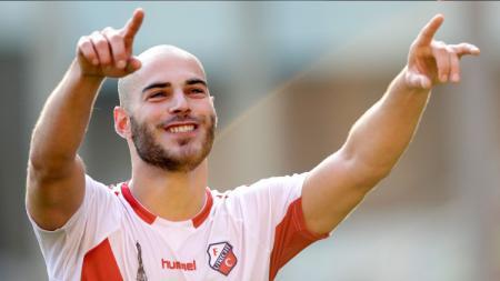 Menyatakan ingin bermain di Liga 1 Indonesia, berikut fakta pemain terbaik Liga Belanda Musim 2013/14 Ruud Boymans. - INDOSPORT