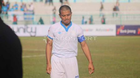 Pemain Blitar United, Tantan. Foto: Ronald Seger Prabowo/INDOSPORT - INDOSPORT
