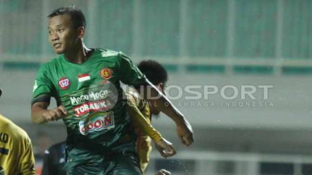 Pemain Tira Persikabo, Wawan Febrianto resmi bergabung dengan Borneo FC. - INDOSPORT