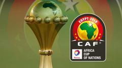 Indosport - Logo Piala Afrika 2019.