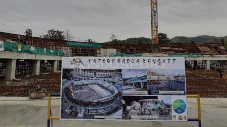 Pembangunan Venue Istora Papua Bangkit untuk PON XX - INDOSPORT