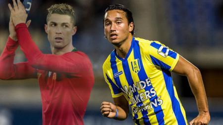Ezra Walian Bisa Jadi Cristiano Ronaldo, diperebutkan banyak klub. (Foto: Toin Damen/bd.nl) - INDOSPORT