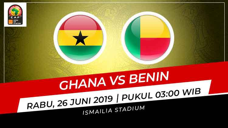 Prediksi Ghana vs Benin Copyright: INDOSPORT