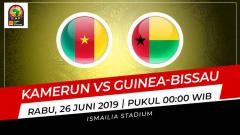 Indosport - Prediksi Kamerun vs Guinea-Bissau.