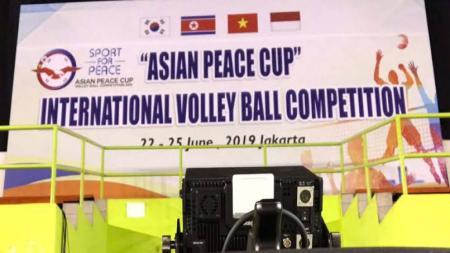 Timnas Voli Putra Indonesia Sukses Juara Turnamen Asian Peace Cup. - INDOSPORT