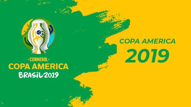 Logo Copa America 2019 Copyright: Eli Suhaeli/INDOSPORT