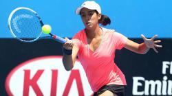 Tami Grende, petenis Indonesia di ajang Australia Open 2015