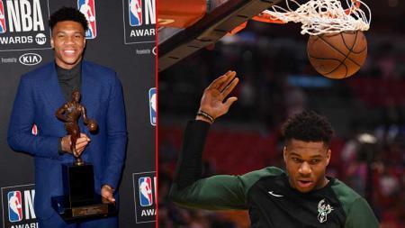 Giannis Antetokounmpo bintang basket, Milwaukee Bucks meraih MVP 2019. - INDOSPORT