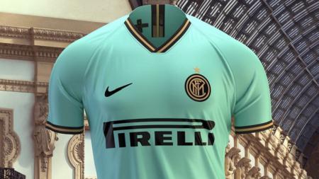 Jersey tandang anyar Inter Milan untuk musim 2019/19 - INDOSPORT