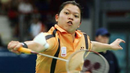 Mia Audina, pebulutangkis Indonesia yang sukses menjuarai Japan Open dengan dua kewarganegaraan, Indonesia dan Belanda. - INDOSPORT