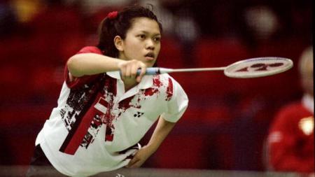 Memutuskan tinggalkan Indonesia dan berkarier di Belanda, media asing asal China berikan julukan ini kepada Mia Audina. - INDOSPORT
