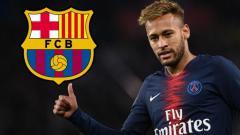 Indosport - Neymar dikabarkan tidak betah di Paris Saint-Germain dan ingin kembali ke Barcelona di bursa transfer musim panas 2019. (Foto: talksport.com)