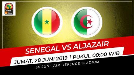 Berikut prediksi pertandingan sengit babak penyisihan grup Piala Afrika 2019 antara Senegal vs Aljazair, pada Jumat (28/06/19) dini hari WIB. - INDOSPORT