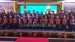 Indosport - Penggawa Timnas Pelajar U-15 mengusung misi besar dalam perhelatan turnamen IBER Cup 2019.