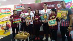 Indosport - Konferensi Pers Terkait Berita Persija Jakarta Siap Buat Gebrakan Baru di Media Sosial