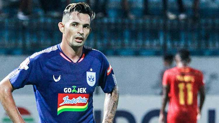 Silvio Escobar striker PSIS Semarang Copyright: psisfcofficial
