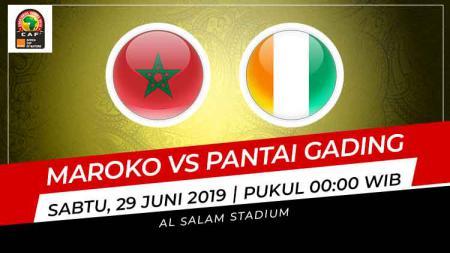 Maroko dan Pantai Gading akan saling berebut puncak klasemen dalam laga kedua Grup D Piala Afrika 2019, Sabtu (29/06/19). - INDOSPORT