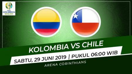 Prediksi Kolombia vs Chile - INDOSPORT
