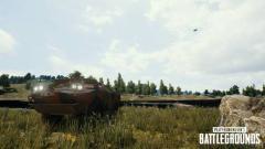 Indosport - Fitur baru dalam PUBG bernama BRDM-2, kendaraan yang menyerupai tank.