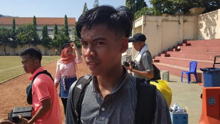Jebolan Garuda Select, David Maulana, bercerita soal pengalaman menimba ilmu sepak bola di Inggris. - INDOSPORT