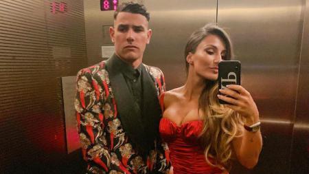 Adriana Pozueco, kekasih Theo Hernandez yang baru berulang tahun. - INDOSPORT