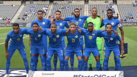 Timnas Curacao di CONCACAF Gold Cup 2019. Foto: Stars and Stripes FC - INDOSPORT