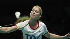 Indosport - Eks Pebulutangkis tunggal putri Denmark, Camilla Martin, menjadi salah satu pemain Eropa paling sukses sepanjang masa.