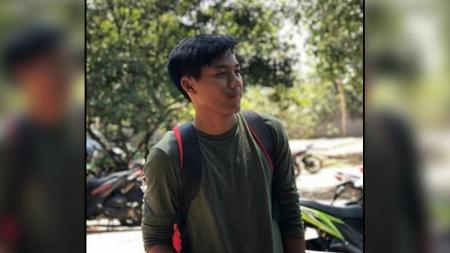 Kartika Vedhayanto, putra dari Mantan pemain Timnas Indonesia Bareti, Tri Mur Vedayanto. - INDOSPORT